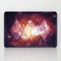 Shining Nebula - Red iPad Case