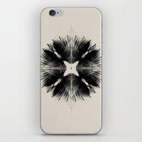 Black Flower iPhone & iPod Skin