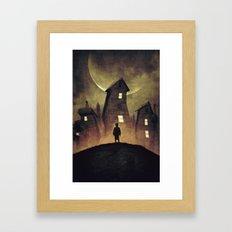 A Bad Dream Framed Art Print