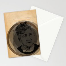 David Lynch Globe Stationery Cards