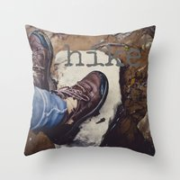 Hike Throw Pillow