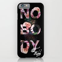 iPhone & iPod Case featuring Nobody let go away by micheleficeli