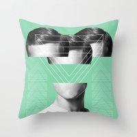 MAN #2 Throw Pillow