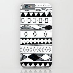 Rivers & Robots Pattern iPhone 6s Slim Case