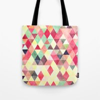 Triangles Colors Tote Bag
