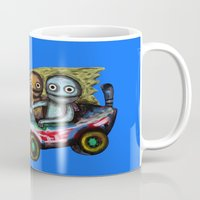 A trip by car Mug