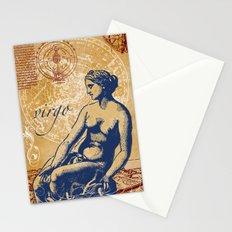 virgo | jungfrau Stationery Cards