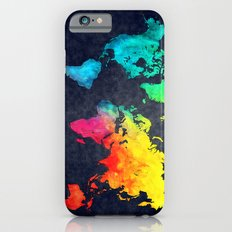 World map watercolor 6 iPhone 6 Slim Case