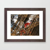 Emerging From The Inside Framed Art Print