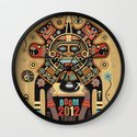 Mayas Spirit - Boom 2012 Wall Clock