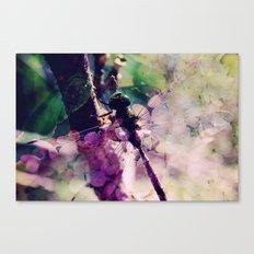 Dragonfly :: Limelight Canvas Print