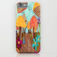 iPhone & iPod Case featuring Alice in the Forest by GiGi Garcia Collages