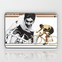 cycling legend Eddy 'The Cannibal' Merckx Laptop & iPad Skin