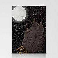The Queen and the Moon Stationery Cards