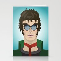 Liam Gallagher Oasis & B… Stationery Cards