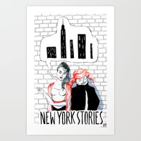 New York Stories Limited… Art Print