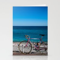 Beach And The Bike - Nic… Stationery Cards