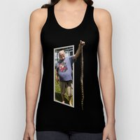 The Snake Dude Unisex Tank Top