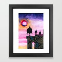 Rajasthan Sunset Framed Art Print
