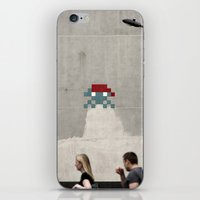 Invaders; They're Coming… iPhone & iPod Skin