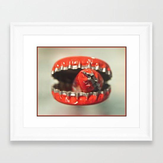 Cap Cannibal  Framed Art Print