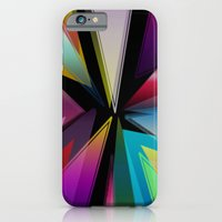 triangle iPhone & iPod Cases featuring Triangle by Jason Michael