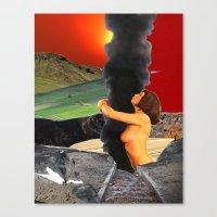 Emote by Zabu Stewart Canvas Print