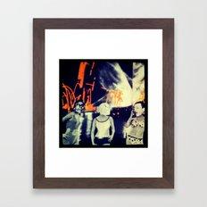 Skags on parade v2.0 Framed Art Print