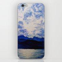 Blue Mountain No.1  iPhone & iPod Skin