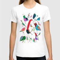 birds T-shirts featuring  Birds by Ashley Percival illustrator
