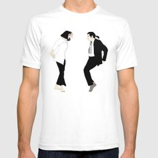 Pulp Fiction Versus Mens Fitted Tee White SMALL