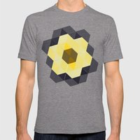 Tiling II Mens Fitted Tee Tri-Grey SMALL