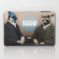 Mordecai & Rigby iPad Case
