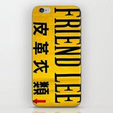 Friendly in Korea iPhone & iPod Skin