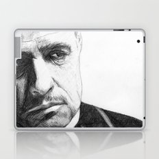 Don Vito Corleone Laptop & iPad Skin