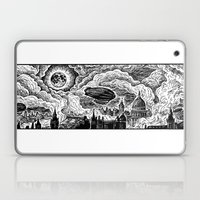 Steampunk Skyline Laptop & iPad Skin