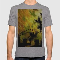 Herbstimpression. Mens Fitted Tee Athletic Grey SMALL