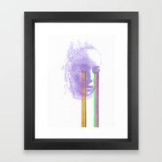Lacryma Color 4 Framed Art Print