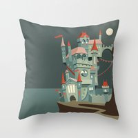 Castle Throw Pillow
