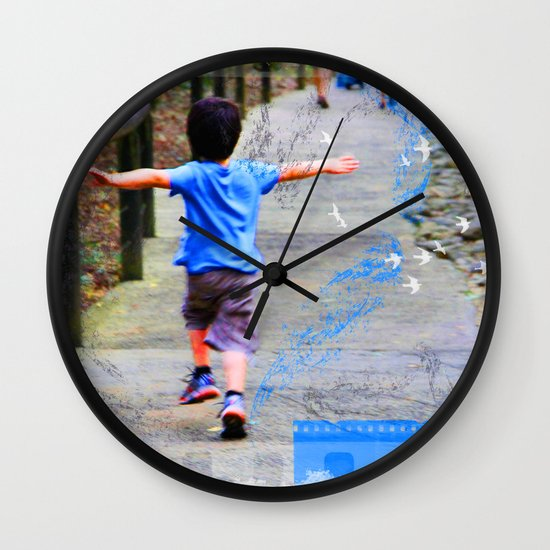 learning to fly 02 Wall Clock