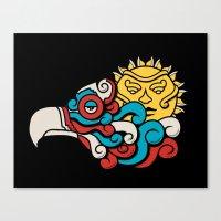 Eagle Sun Canvas Print