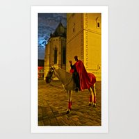 Devil At Midnight Art Print