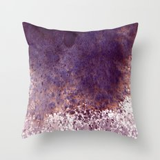 splattering, from the top Throw Pillow