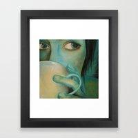 First Cup Framed Art Print