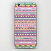Geometric Pastel Pattern iPhone & iPod Skin