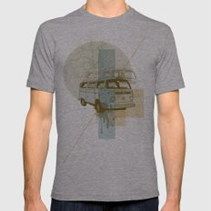 Camioneta Mens Fitted Tee Athletic Grey SMALL