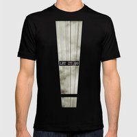 Let It Go Mens Fitted Tee Black SMALL