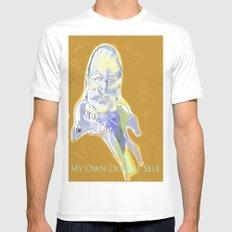 Ingmar Bergman Mens Fitted Tee White SMALL