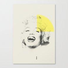 Marilyn Monroe | Esperantos | Dot-file #1 Canvas Print
