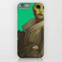 Not easy being green iPhone 6 Slim Case